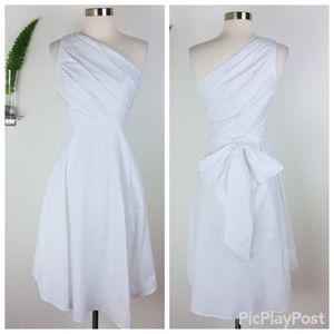 NWT Banana Republic Pretty One Shoulder Dress (0)
